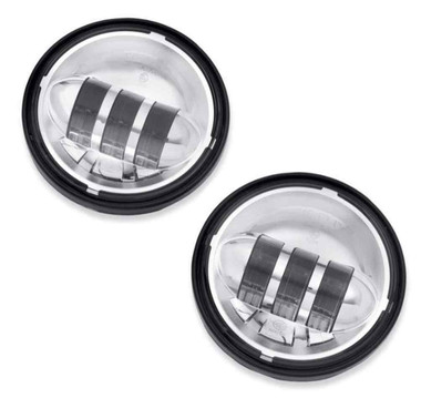 Harley-Davidson 4 in Daymaker Projector LED Auxiliary Lamps, Chrome 68000172 - Wisconsin Harley-Davidson