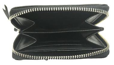 Harley-Davidson Women's Snake Charmer Leather Zip-Around Wallet HDWWA11338-BLK - Wisconsin Harley-Davidson