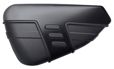 Harley-Davidson Cut Back Battery Cover, Fits 14-later XL Models, Black 57200140 - Wisconsin Harley-Davidson