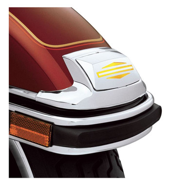 Harley-Davidson Bar & Shield Logo Fender Tip Lens Kit - Chrome Finish 59081-96 - Wisconsin Harley-Davidson