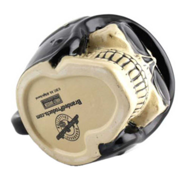 Harley-Davidson Skull Rider B&S Stein, Sculpted Ceramic, 32 oz. HDL-18608 - Wisconsin Harley-Davidson