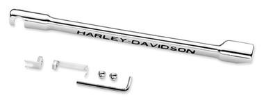 Harley-Davidson Script Gear Shifter Linkage Cover, Chrome Finish 46302-01 - Wisconsin Harley-Davidson