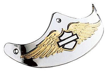 Harley-Davidson Front Eagle Wing B&S Fender Trim, Fits Fat Boy Models 59367-97 - Wisconsin Harley-Davidson