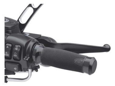 Harley-Davidson Get-A-Grip Hand Grips - Gloss Black, Magnum 1.6 inch 56100036 - Wisconsin Harley-Davidson