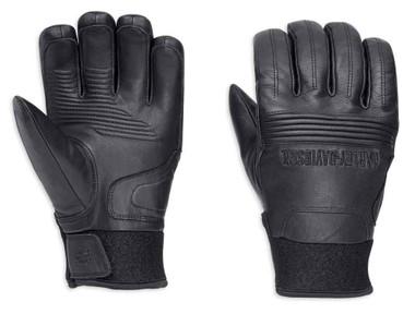 Harley-Davidson Men's Cyrus Insulated Waterproof Full-Finger Gloves 98220-18VM - Wisconsin Harley-Davidson