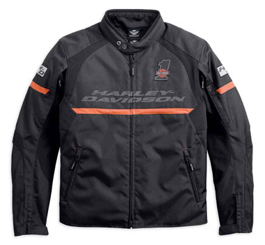 Harley-Davidson Men's Killian Riding Functional Jacket, Black 98235-18VM - Wisconsin Harley-Davidson