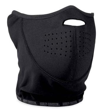 Harley-Davidson Wind-Resistant Fleece & Neoprene Face Mask, Black 98234-18VX - Wisconsin Harley-Davidson
