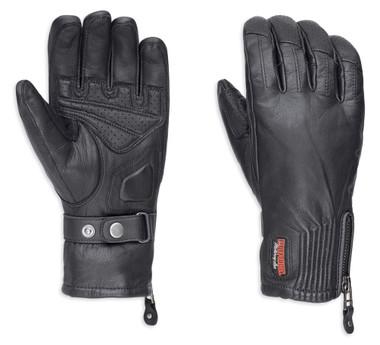Harley-Davidson Women's Jayden Under Cuff Gauntlet Full-Finger Gloves 98250-18VW - Wisconsin Harley-Davidson