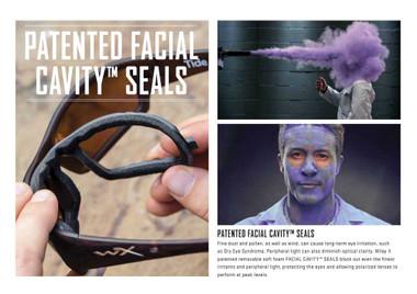 Harley-Davidson Men's Replacement Cavity Seal for Backbone G2 Sunglasses HDBACG2 - Wisconsin Harley-Davidson