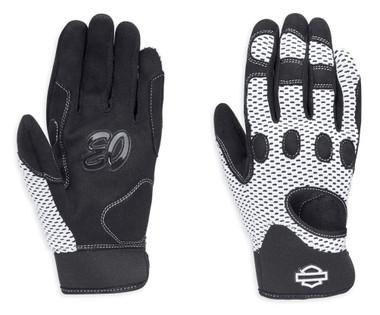 Harley-Davidson Women's Reveaux Mesh Gloves w/ CoolCore Technology 98252-18VW - Wisconsin Harley-Davidson
