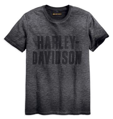 Harley-Davidson Men's Jersey Applique Logo Slim Fit Short Sleeve Tee 99019-18VM - Wisconsin Harley-Davidson