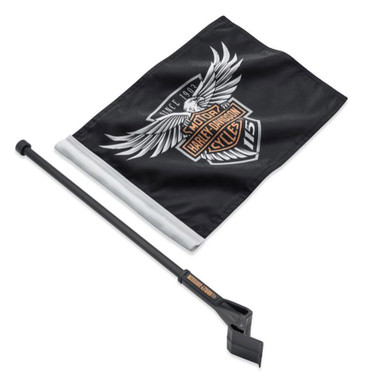 Harley-Davidson 115th Anniversary Limited Edition Flag Kit, Tour-Pak 61400523 - Wisconsin Harley-Davidson