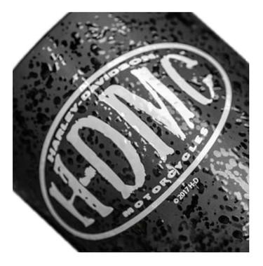 Harley-Davidson Myst H-DMC Textured Ceramic Coffee Cup, Black 15 oz. 3MLM4925 - Wisconsin Harley-Davidson