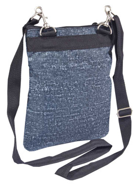 Harley-Davidson Women's  Cross-Body Crossbody Sling Purse, Blue Rain 99616-BLUE - Wisconsin Harley-Davidson