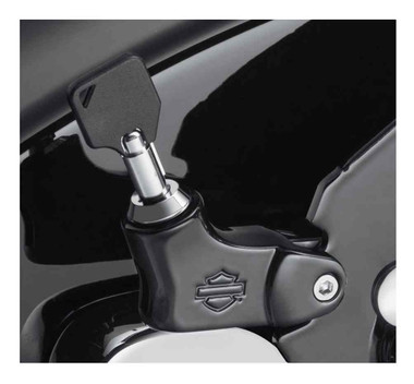 Harley-Davidson HoldFast Locking Latch - Black Finish, Softail Models 52300514 - Wisconsin Harley-Davidson