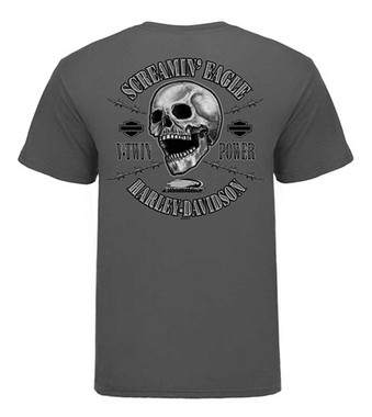 Harley-Davidson Men's Screamin' Eagle Jail Break Short Sleeve Tee HARLMT0266 - Wisconsin Harley-Davidson