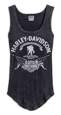 Harley-Davidson Women's Wounded Warrior Project Stars & Stripes Tank 99061-17VW - Wisconsin Harley-Davidson