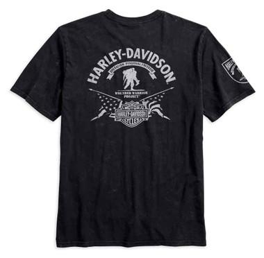 Harley-Davidson Men's Wounded Warrior Project Stars & Stripes Tee 99058-17VM - Wisconsin Harley-Davidson