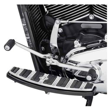 Harley-Davidson Chrome Heel Shifter Lever, Fits Softail Models 33600224 - Wisconsin Harley-Davidson