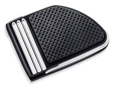 Harley-Davidson Defiance Brake Pedal Pad Machine Cut - Large, Black 50600258 - Wisconsin Harley-Davidson