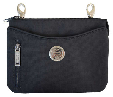 Harley-Davidson Women's World Tour Hip Bag w/ Detachable Strap WT8363S-BLK - Wisconsin Harley-Davidson