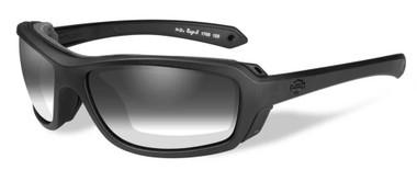 Harley-Davidson Men's Rage LA Light Sunglasses, Gray Lens / Black Frame HDRGE05 - Wisconsin Harley-Davidson
