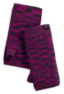 Harley-Davidson Women's Fingerless Knit Gloves, Magenta Purple 97618-18VW - Wisconsin Harley-Davidson