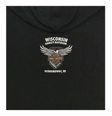 Harley-Davidson Women's 115th Anniversary Motorcycle Queen Pullover Hoodie - Wisconsin Harley-Davidson