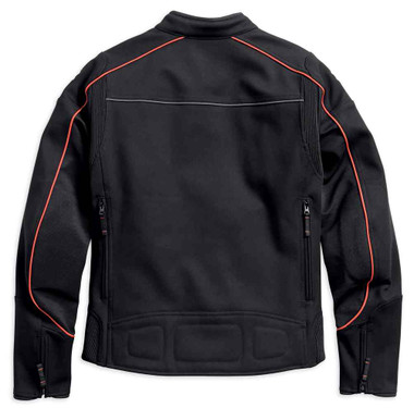 Harley-Davidson Men's Manitowoc Stretch Riding Jacket, Black 98156-18VM - Wisconsin Harley-Davidson