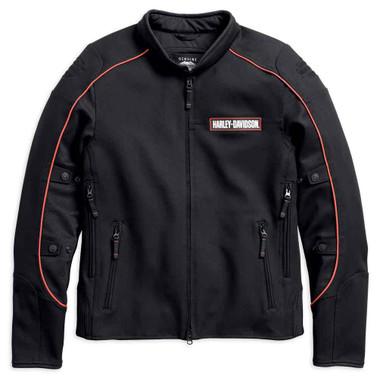 Harley-Davidson Men's Manitowoc Stretch Riding Jacket, Black 98156-18VM - Wisconsin Harley-Davidson