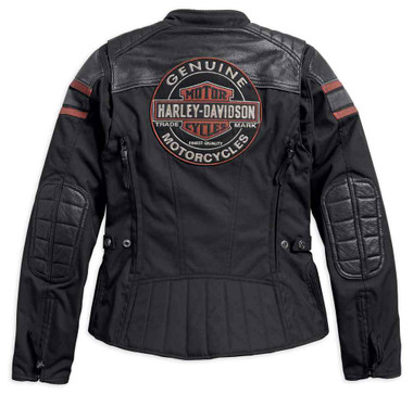 Harley-Davidson Women's Triple Vent System Worden Riding Jacket 98165-18VW - Wisconsin Harley-Davidson