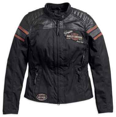 Harley-Davidson Women's Triple Vent System Worden Riding Jacket 98165-18VW - Wisconsin Harley-Davidson
