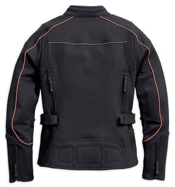 Harley-Davidson Women's Fennimore Stretch Riding Jacket, Black 98162-18VW - Wisconsin Harley-Davidson
