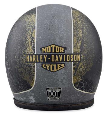 Harley-Davidson Men's 1903 Needles Highway B01 3/4 Helmet, Black 98183-18VX - Wisconsin Harley-Davidson