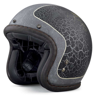 Harley-Davidson Men's 1903 Needles Highway B01 3/4 Helmet, Black 98183-18VX - Wisconsin Harley-Davidson