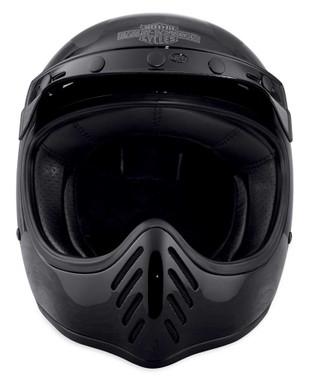 Harley-Davidson Men's Garage Stinger B14 Full-Face Helmet, Black 98197-18VX - Wisconsin Harley-Davidson