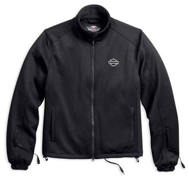 Harley-Davidson Men's Heated BTC 12V Full-Zip Jacket Liner, Black 98297-17VM - Wisconsin Harley-Davidson
