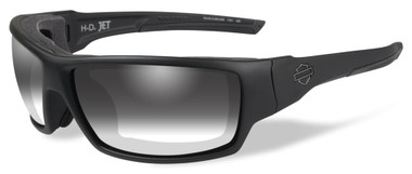 Harley-Davidson Men's Jet LA Light Sunglasses, Gray Lens / Black Frames HDJET05 - Wisconsin Harley-Davidson