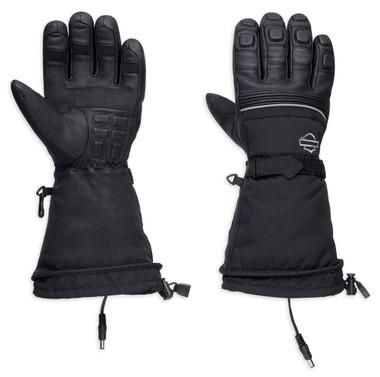 Harley-Davidson Men's Heated BTC 12V Waterproof Gauntlet Gloves 98298-17VM - Wisconsin Harley-Davidson