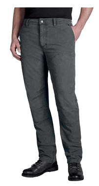 Harley-Davidson Men's Straight Leg Fit Modern Canvas Pants, Gray 99055-18VM - Wisconsin Harley-Davidson