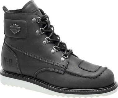 Harley-Davidson Men's Hagerman Black or Brown Motorcycle Boots D93469 D93470 - Wisconsin Harley-Davidson