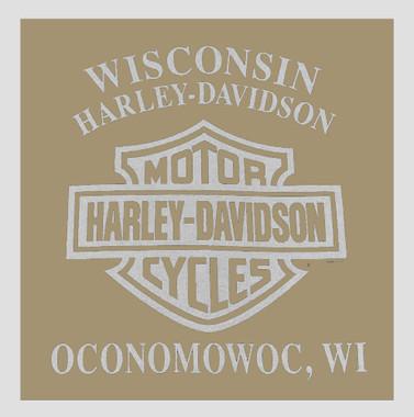 Harley-Davidson Men's Gear Madness Chest Pocket Crew Neck T-Shirt 5L38-HF1T - Wisconsin Harley-Davidson