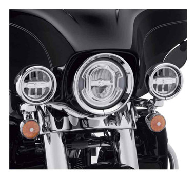 Harley-Davidson 4 in. Daymaker Reflector LED Auxiliary Lamps, Chrome 68000252 - Wisconsin Harley-Davidson