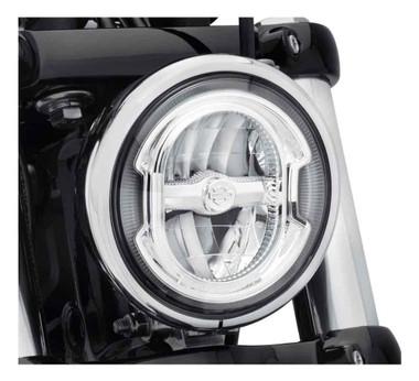 Harley-Davidson 5.75in Daymaker Signature Reflector LED Headlamp-Chrome 67700355 - Wisconsin Harley-Davidson