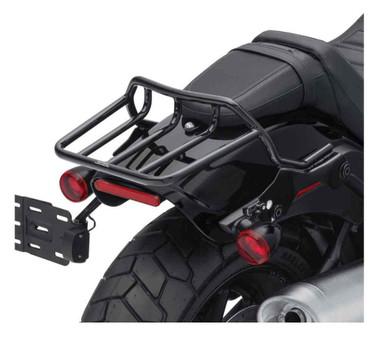 Harley-Davidson HoldFast Two-Up Luggage Rack - Black, Fat Bob Models 50300140 - Wisconsin Harley-Davidson