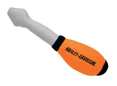 Harley-Davidson Mesh Screw Driver Tool Squeaker Dog Toy - 10 inch H8814NCLDOG - Wisconsin Harley-Davidson