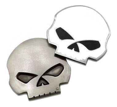 Harley-Davidson Die-Cut 3D Willie G Skull Logo Challenge Coin, 1.75 in 8008598 - Wisconsin Harley-Davidson