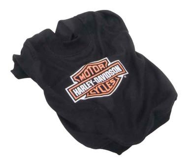 Harley-Davidson Bar & Shield Logo Pet Cotton-Blend T-Shirt - Black H2100 H BK1 - Wisconsin Harley-Davidson