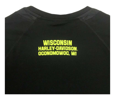 Harley-Davidson Men's Demon Gear Performance Wicking Short Sleeve Tee 5N38-HD2X - Wisconsin Harley-Davidson
