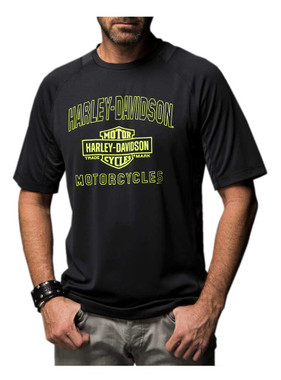 Harley-Davidson Men's Demon Gear Performance Wicking Short Sleeve Tee 5N38-HD2X - Wisconsin Harley-Davidson